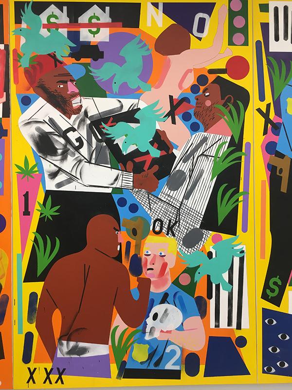 nina chanel abney artist black african-american art
